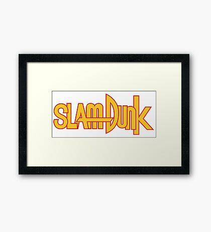 Slam Dunk Logo (Classic) Framed Print