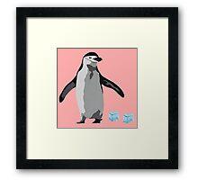 Chinstrap Penguin Framed Print