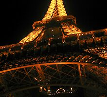 Eiffel Tower at Night by danielmarcus