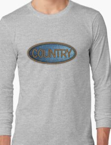 Country music Jeans & Ropes Long Sleeve T-Shirt