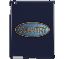 Country music Jeans & Ropes iPad Case/Skin