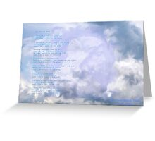 Soul In The Wind Greeting Card