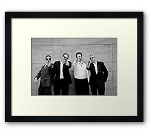 Good Cop, Bad Cops Framed Print