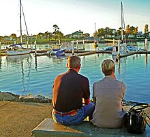 Sittin' By The Dock Of The Bay by TonyCrehan