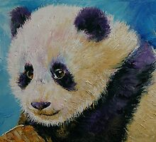 Panda Cub by Michael Creese