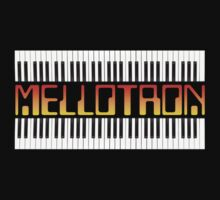 Mellotron Vintage Synth One Piece - Short Sleeve