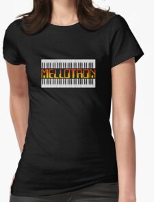 Mellotron Vintage Synth Womens Fitted T-Shirt
