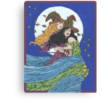 Witches' Wind Canvas Print