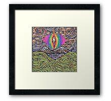 Awakening Vibrations Framed Print