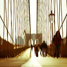 Brooklyn Bridge 9 am by LauraZim