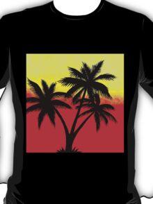 Palm Tree Silhouette T-Shirt