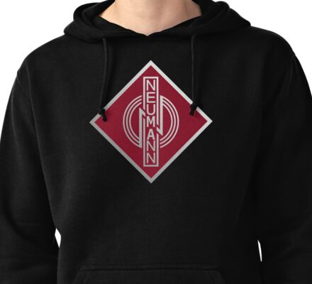 Wonderful Neumann Microphones Pullover Hoodie