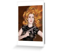 Barbarella Greeting Card