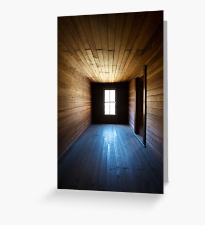 Steadfast - Abandoned Farm House in Smoky Mountains Greeting Card