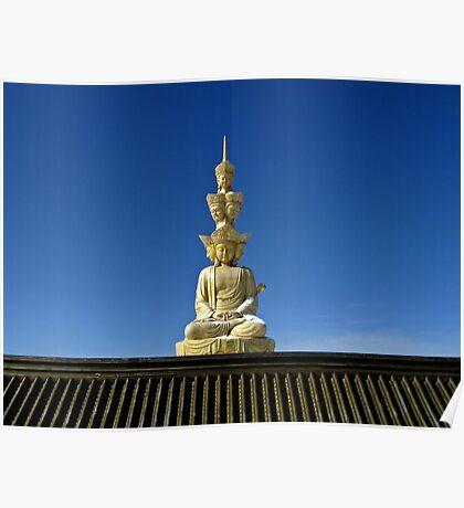 Buddha Statue, Emei Shan, Sichuan, China Poster