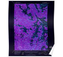 USGS Topo Map Oregon Eagle Cap 282441 1954 62500 Inverted Poster