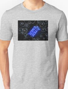 Dr Who Tardis painted with LED light Unisex T-Shirt