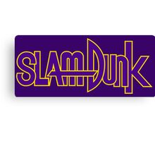 Slam Dunk Logo (Kainan) Canvas Print