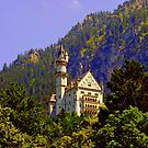 Castle Neuschwanstein Germany by Daidalos