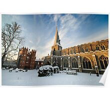 St Mary's Church and the Deanery Tower Poster