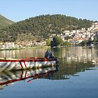 Kastoria Lake by jimkoul