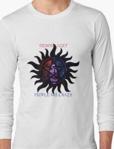 Supernatural - Dean the Demon Long Sleeve T-Shirt