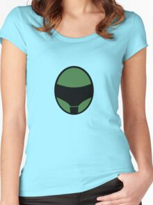 Green Motor Helm Women's Fitted Scoop T-Shirt
