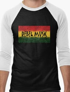 Rebel Music Men's Baseball ¾ T-Shirt