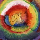 20 - COLOUR EXPLOSION - DAVE EDWARDS - WATERCOLOUR - 1967 by BLYTHART