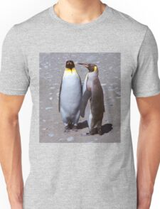 King Penguin Conversation, 'Oh no! I don't think so.' Unisex T-Shirt