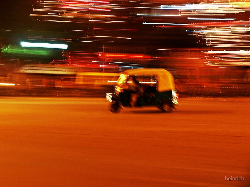 Faster than the speed of night II by heinrich