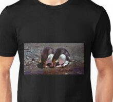 Royal Penguins Collecting Pebbles For Their Nest Unisex T-Shirt