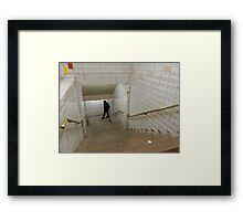 even cops do it... Framed Print