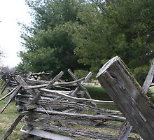 Harpers Ferry Fence by AndreaLStuart