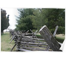 Harpers Ferry Fence Poster