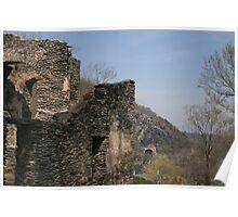 Rustic Ruins  Poster