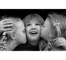 Loving Kisses Photographic Print