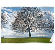 Ellis Hollow Road Sky Poster