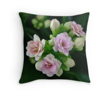 Natural bouquet Throw Pillow