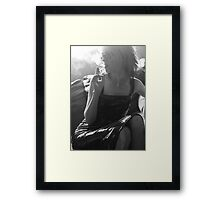 Tilt To The Left Framed Print