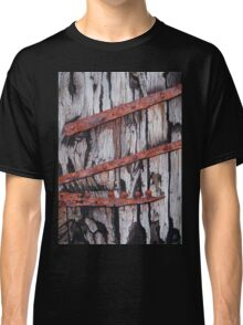 Door to the Past Watercolour Painting Classic T-Shirt