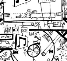 Inside Your iPod Sticker Sticker