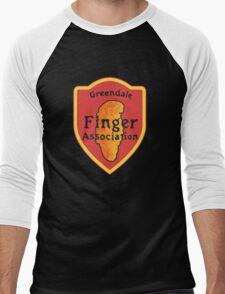 Greendale Finger Association Men's Baseball ¾ T-Shirt