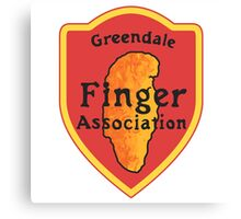 Greendale Finger Association Canvas Print