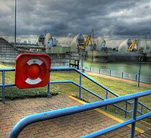 Thames Barrier View by Victoria limerick