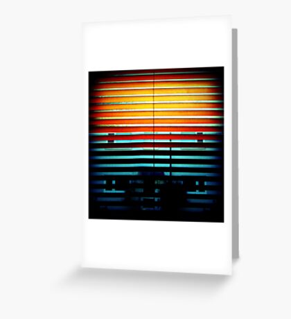 the house of the rising sun Greeting Card