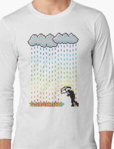 Pixel Rain Long Sleeve T-Shirt