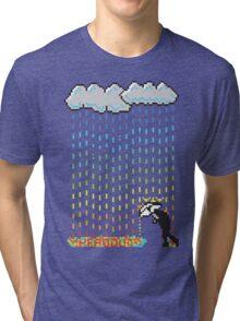 Pixel Rain Tri-blend T-Shirt