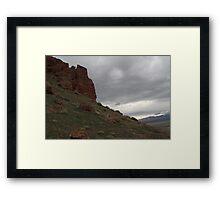 Nevada Plains Framed Print