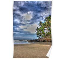 HDR of Hawaizinho beach Poster
